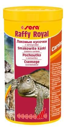 Корм для рыб, для рептилий Sera Raffy Royal, 0.22кг