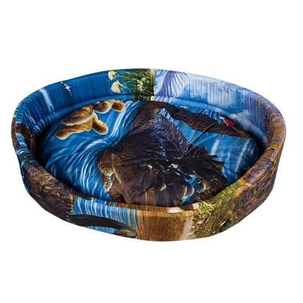 Лежак для собак и кошек Xody Открытый Эконом №1, цвета в ассортименте, 42х35х16 см