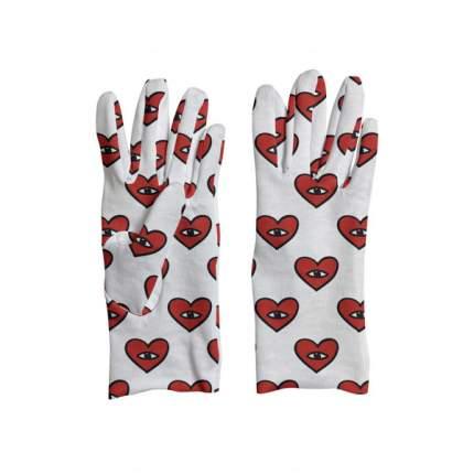 Перчатки MARENGO TEXTILE «Сердца» L
