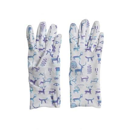 Перчатки MARENGO TEXTILE «Наскальная живопись» L