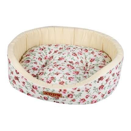 Лежак для собак и кошек Xody Премиум №0, хлопок, нежность, 38х26х15 см
