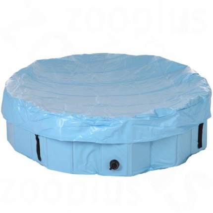 Бассейн для собак TRIXIE Dog Pool, сине-голубой, 120х120х30 см