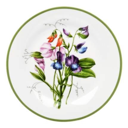 Тарелка десертная Dasen Душистый горошек 19 см