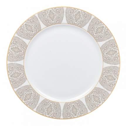 Тарелка десертная Dasen Бежевая классика 23 см