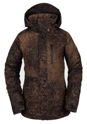 Куртка Сноубордическая Volcom 2020-21 Shelter 3D Stretch Leopard (Us:m), 2020-21