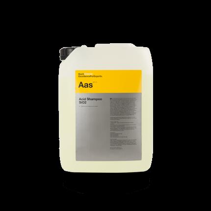 Глубоко очищающий шампунь Koch Chemie Acid Shampoo SiO2 от песка и частиц металла 11кг