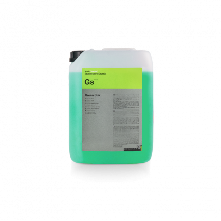 Универсальное щелочное средство Koch Chemie Green Star для бережной первичной мойки 11л