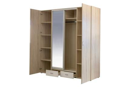 Шкаф 4-дверный Hoff Модена