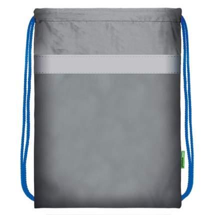 Мешок для обуви SchoolФормат, 40,5х34 см, серый с синим