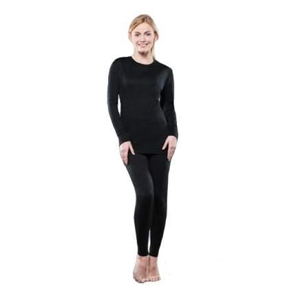 Комплект женского термобелья Guahoo: рубашка + лосины (351-S/BK / 351-P/BK) (L)