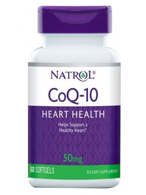 Natrol CoQ-10 50mg 60caps (60 капс.)