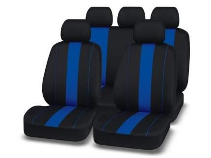 Чехлы на автомобильные сиденья Autopremier Active Pro Черный/Синий