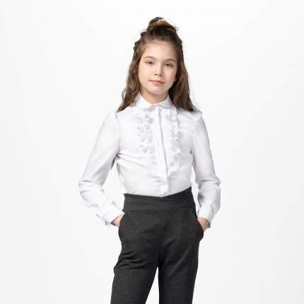 Блузка для девочек СМЕНА белый 10544 р.134/68
