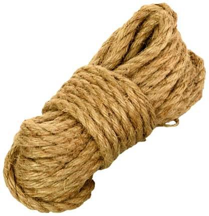 Джутовая веревка для бондажа 10 м.