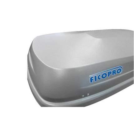 Бокс на крышу FicoPro Zenith 390 Silver