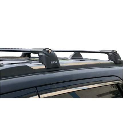 Багажник в штатные места Turtle Air-2 для Honda CR-V 2013- черный
