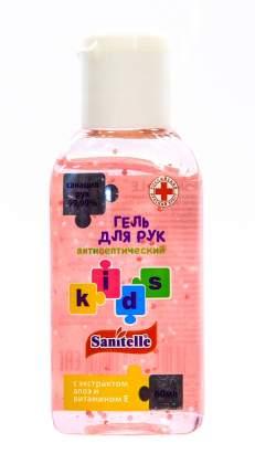 """Антисептик Санитель гель, аромат """"Bubble Gum"""" розовый 60 мл"""