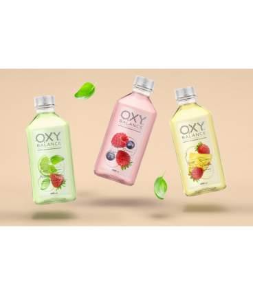 Oбогащенная вода Oxy Balance ягодный микс 400 мл