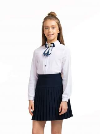 Блузка для девочек СМЕНА белый 10844 р.128/64
