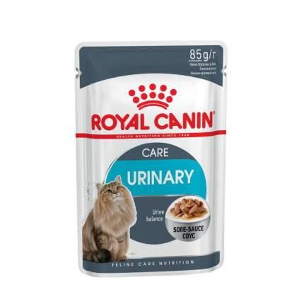 Влажный корм для кошек ROYAL CANIN Urinary Care, мясо, 12шт, 85г