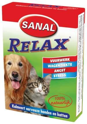 Витамины для кошек и собак Sanal Релакс от укачивания 15 табл