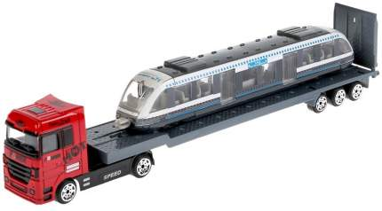 Технопарк Тягач с трамваем, 24 см
