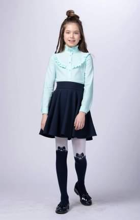 Блузка для девочек СМЕНА мятный 10839 р.158/80