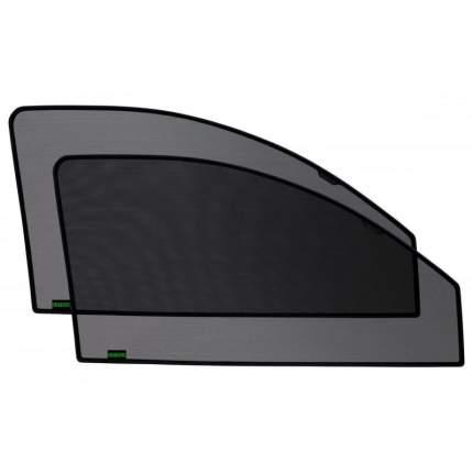 Каркасные автошторки KERTEX на встроенных магнитах на передние двери Kia Rio 3, седан