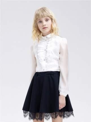 Блузка для девочек СМЕНА цв.белый 10835 р.122/60