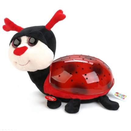 Мягкая игрушка проектор-ночник Мульти-Пульти Божья коровка, 7 колыбельных