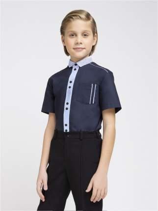 Сорочка для мальчиков SMENA цв.синий 19186 р.152/76(35)