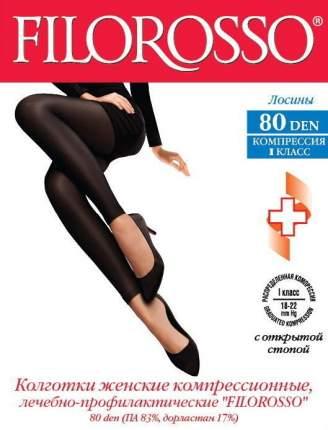 Лосины Filorosso компрессионные лечебно-профилактические 80 den 1 класс черный р.4