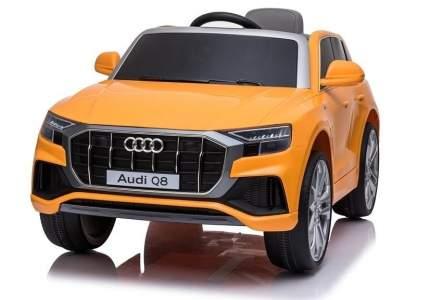 Электромобиль ToyLand Джип Audi Q8 оранжевый