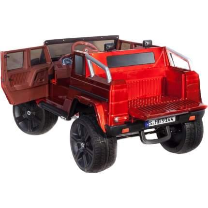 Электромобиль ToyLand Джип Mercedes Benz G Maybach, красный