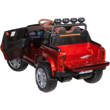 Электромобиль ToyLand Джип Mercedes Benz пикап YBD5478, красный, свет и звук