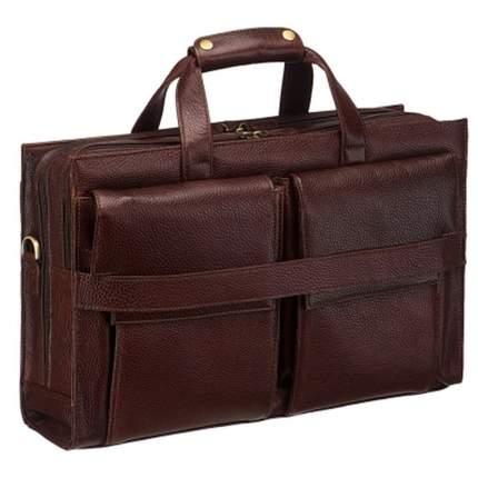 Портфель мужской Dr.Koffer B246340-02 темно-коричневый