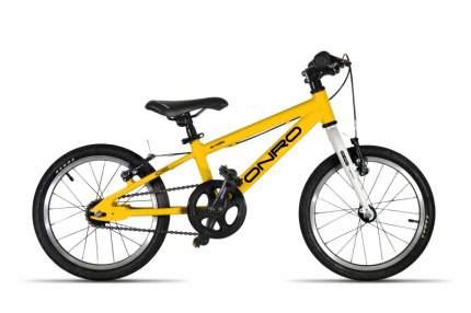 """Детский велосипед ONRO 16"""" Желтый"""