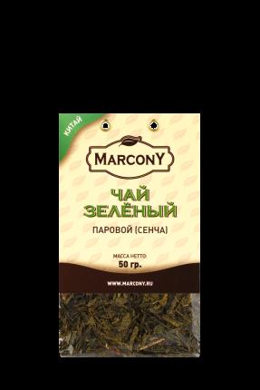 Чай зеленый Marcony паровой (сенча) 50г