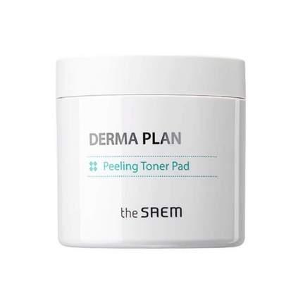 Пилинг-пады тонизирующие The Saem Derma Plan Peeling Toner Pad