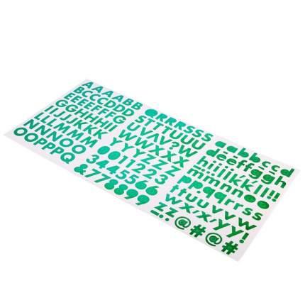 "Стикеры-алфавит Sticko ""Green"" 178 шт Sima-Land"