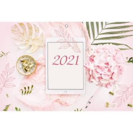 Календарь на 2021 год Listoff Офис (квартальный на евроспирали)