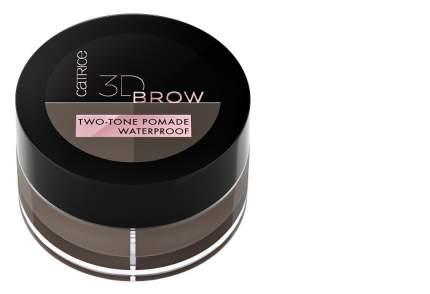 Помада для бровей CATRICE 3d brow two-tone pomade waterproof - 020 Medium To Dark