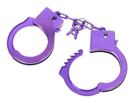 Фиолетовые пластиковые наручники Sima-land Блеск