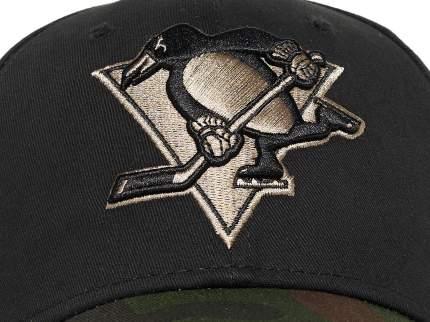Бейсболка Atributika&Club NHL Pittsburgh Penguins черная