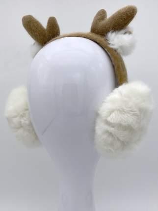 Наушники утепленные МихиМихи MM08584 Олененок белые