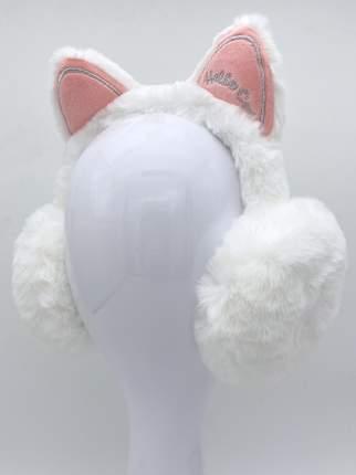 Наушники утепленные МихиМихи MM08581 Котик Hello Cat белые