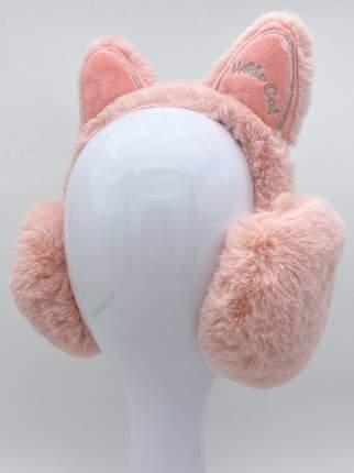 Наушники утепленные МихиМихи MM08579 Котик Hello Cat розовые