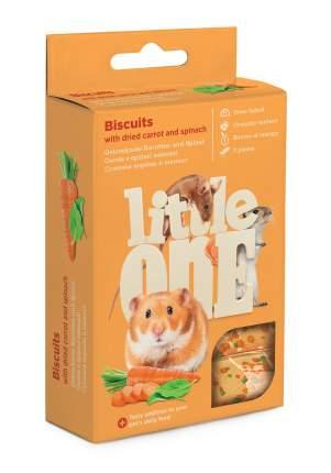 Лакомство для грызунов Little One бисквит, морковь и шпинат, 35 г