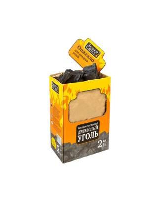 Уголь древесный SuperGrill 2 кг