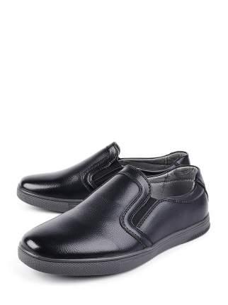 Полуботинки BERTEN DFI_771056-1_black цв. черный р.34